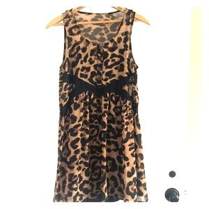 Float Leopard Dress